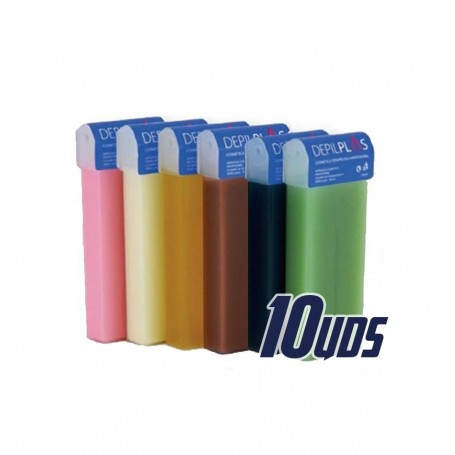 LOTE 10 UNIDADES ROLL-ON CERA 100 ML