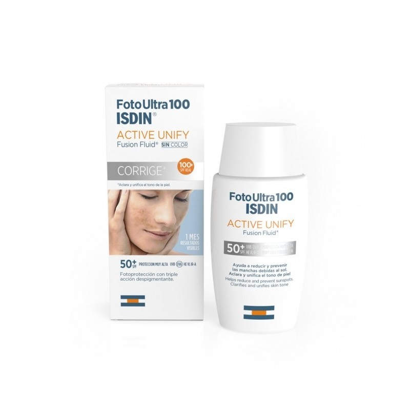 Foto Ultra 100 Isdin Active Unify Fusion fluid