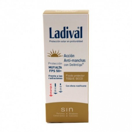 Ladival Fluido Protector Antimanchas Toque Secos SPF50