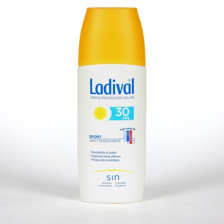 Ladival Sport Spray Transparente SPF 30 150ml