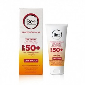 Be+ Gel Facial Piel Grasa Tacto Seco SPF50+ 50ml